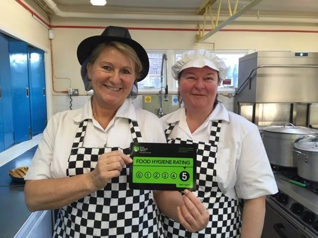 We are proud of our 5* hygiene rating!