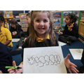Drawing our own caterpillars