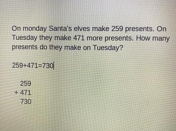 Annie's Christmas Word Problem