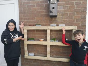 Isabel's recycling project