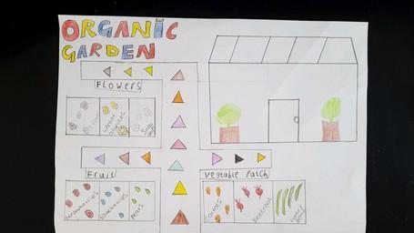 Gethin's organic garden