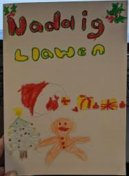 Ieuan's Christmas Card (front)