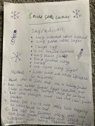 Keira's Christmas Recipe