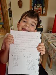 Isaac's Christmas poem
