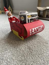 Annie's sleigh -wow!