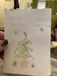 Elijah's Christmas Card