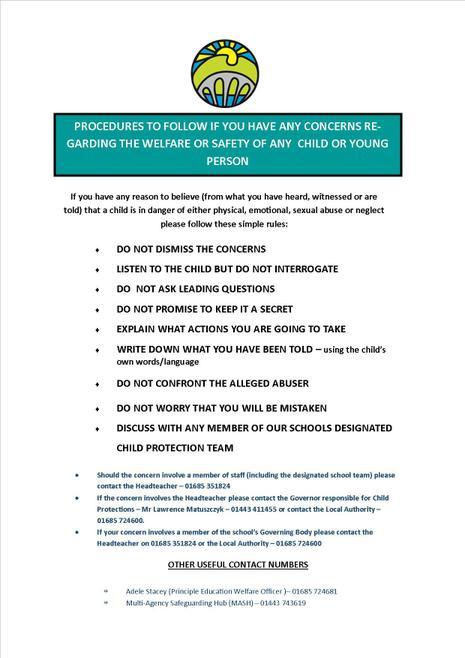 Safeguarding Procedures