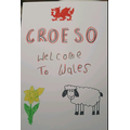 Croeso poster