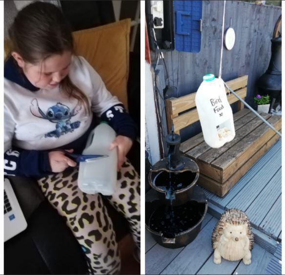 Maisie's recycling project