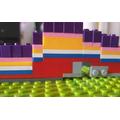 Building a rainbow from Lego