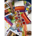 VE Day inspired paintings