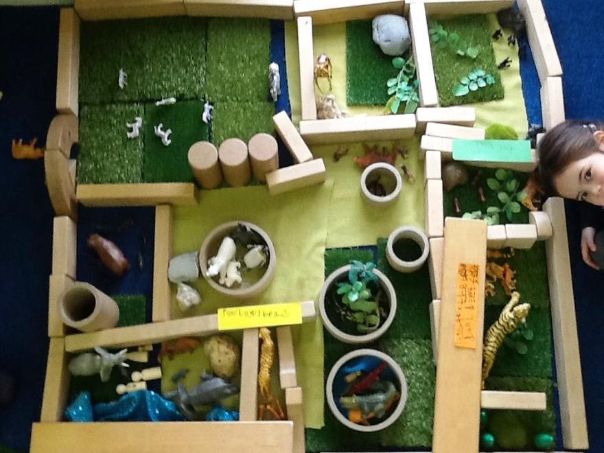 to create safe habitats...