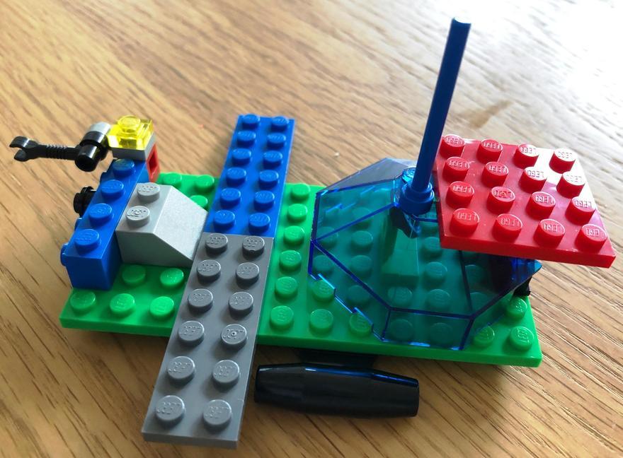 Symmetrical craft from Lego...