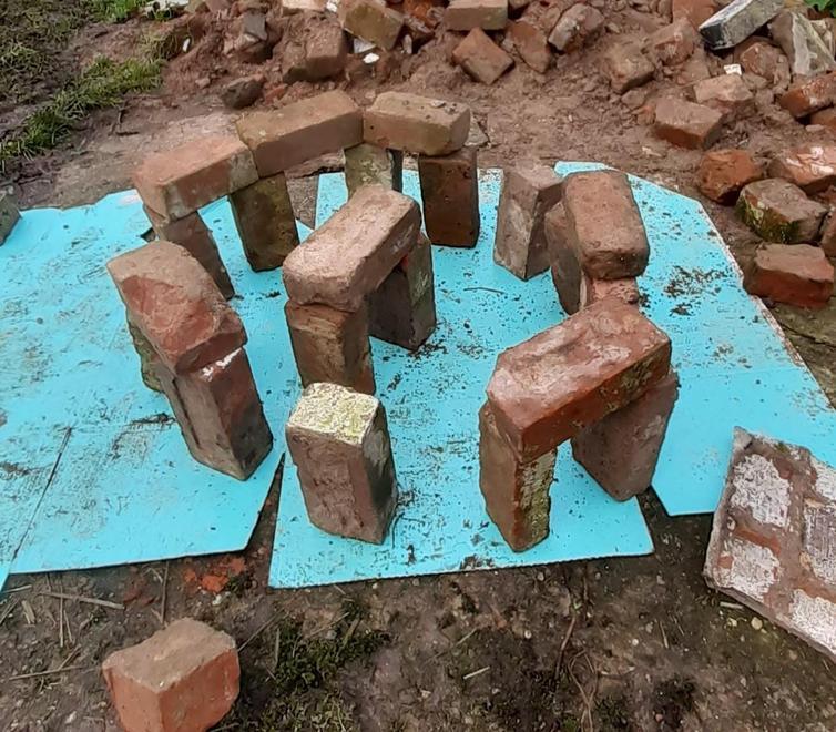 Stonehenge, created by Phoebe