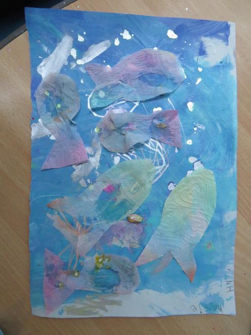 ..adding a 'Rainbow Fish'