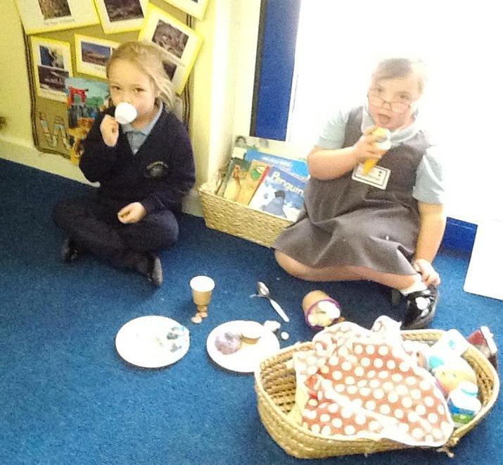 picnic at the zoo!