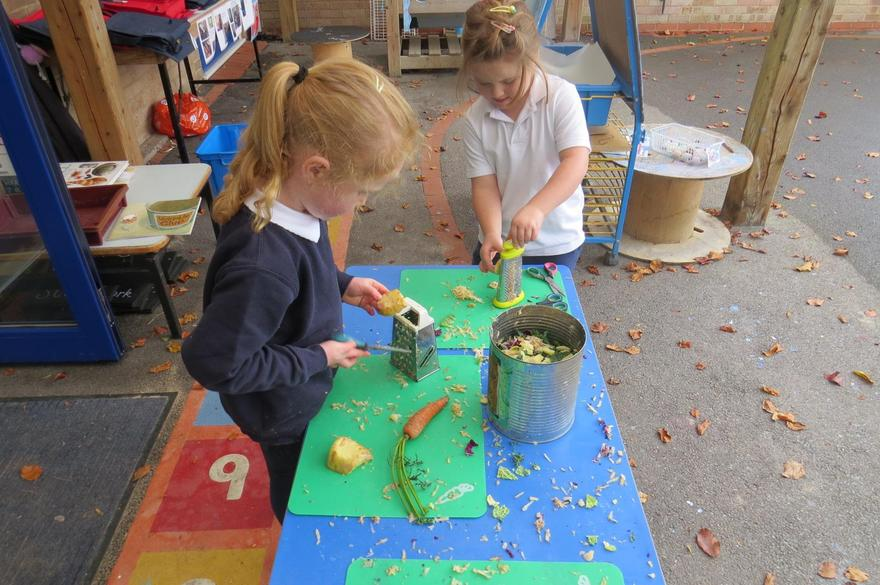 using utensils and our '5-a-day'