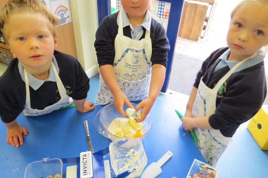 to make fairy cakes...