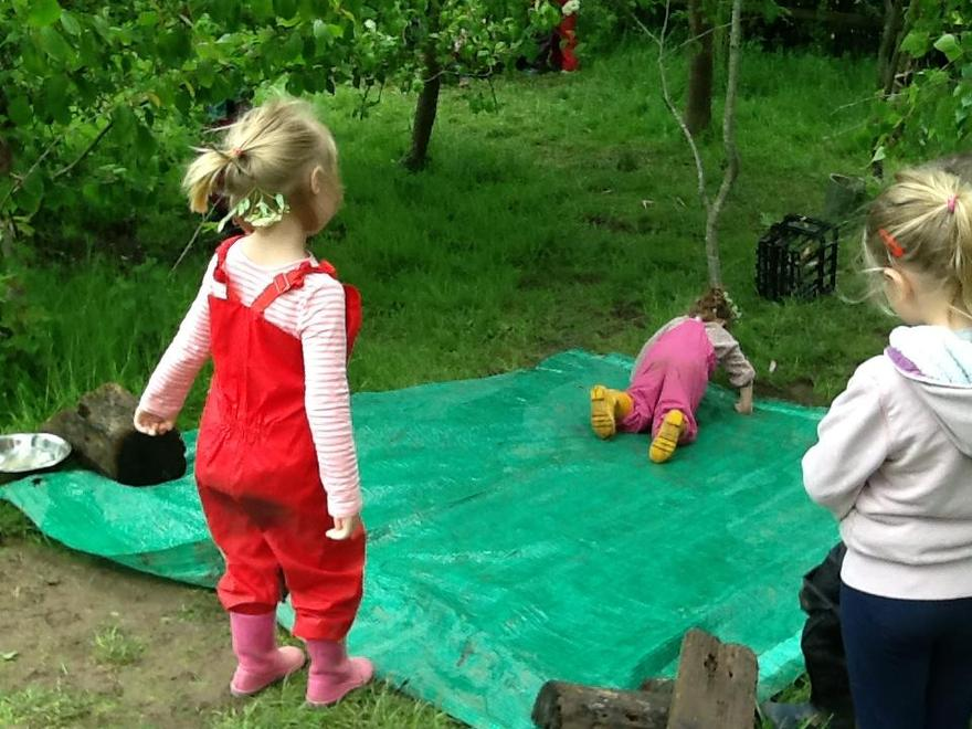 and for mud slide fun!