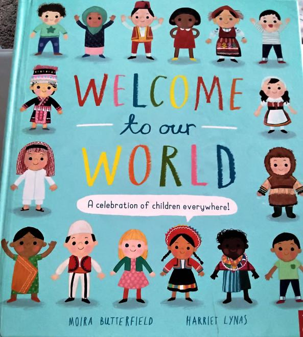 and found out about children around the world.