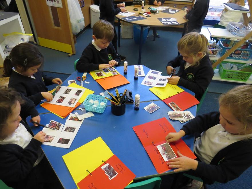 Starting our 'Autumn Celebrations' books.