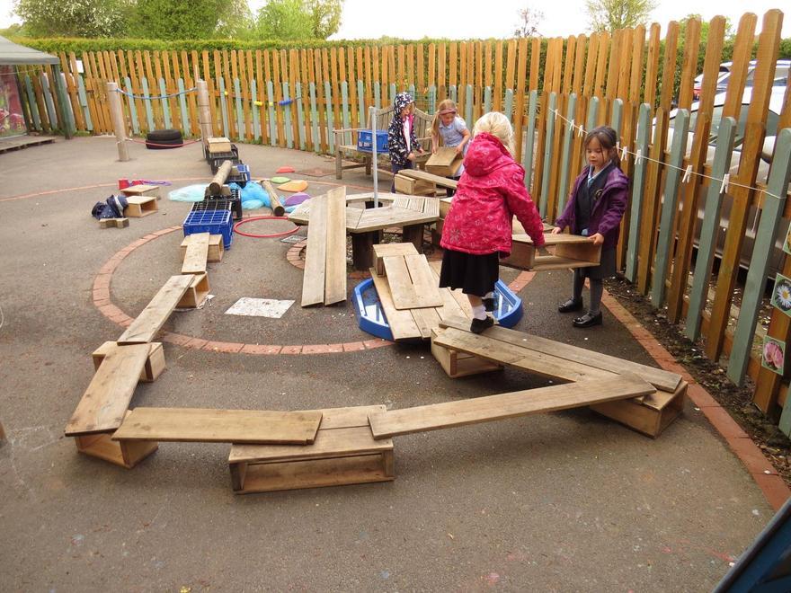Bridging the magic pond...