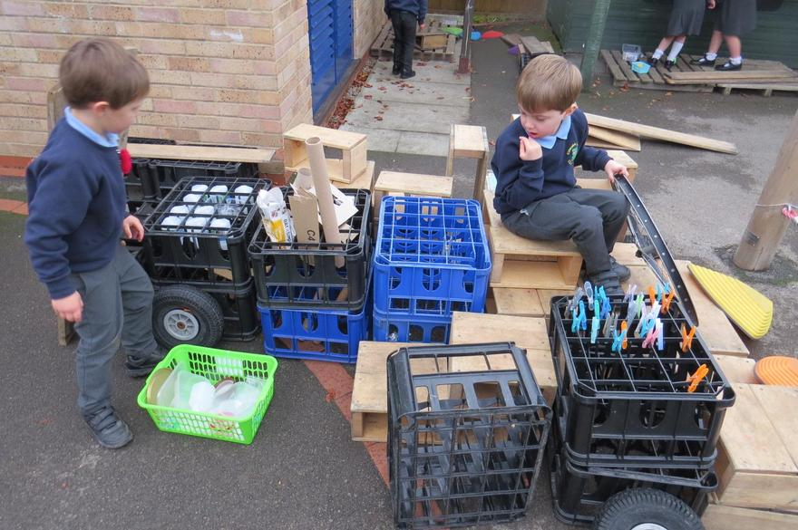 We thought about people who worked through the night; like the recycling lorry operatives.