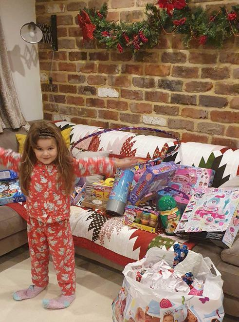 and brought you lots of presents!