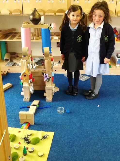 to make our construction as tall as ourselves!
