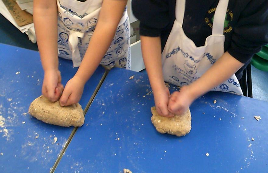 ..and bread making skills..