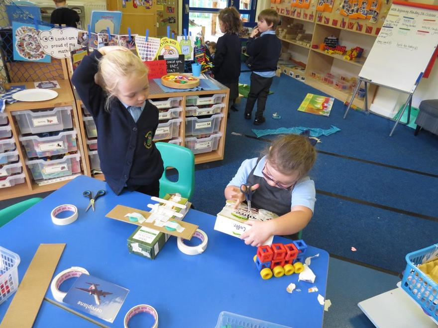 or independently to make our model vehicles