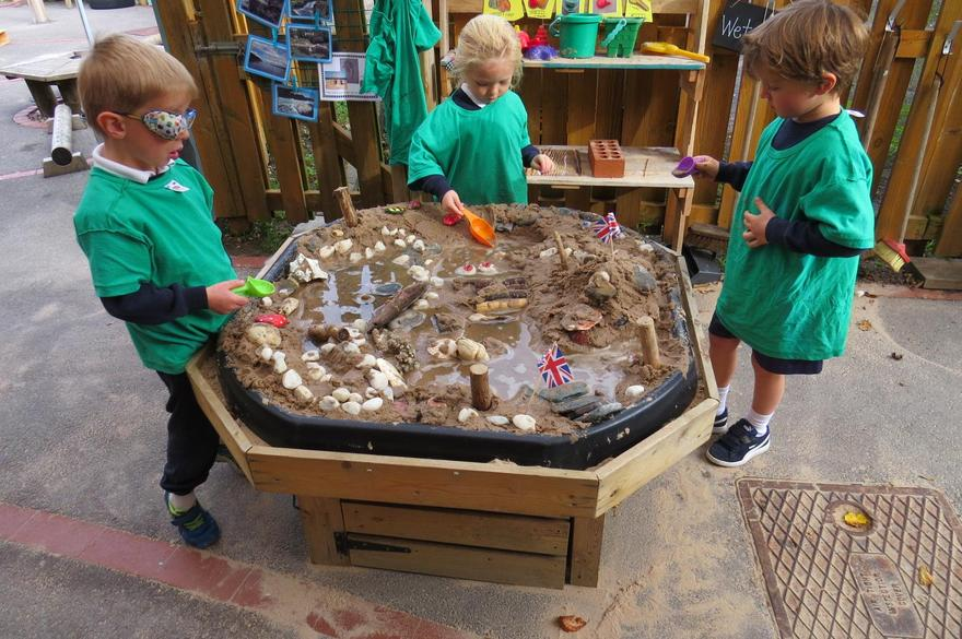 We learnt about the journey water takes from the sea..