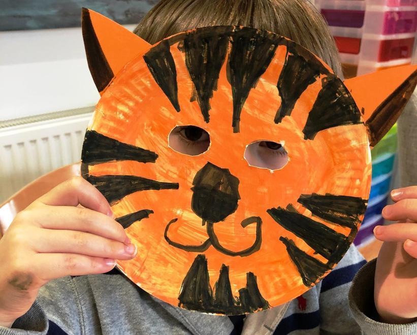Our big cat masks...