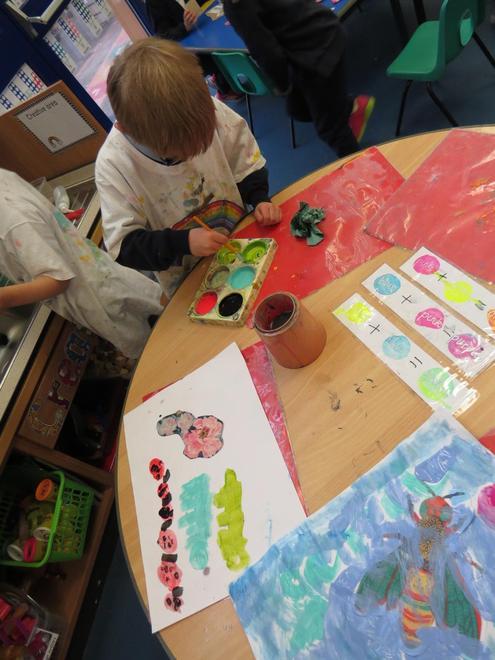 Creating paintings...