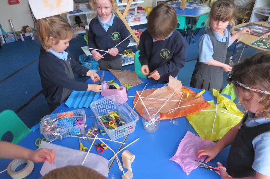 An idea to make a kite..