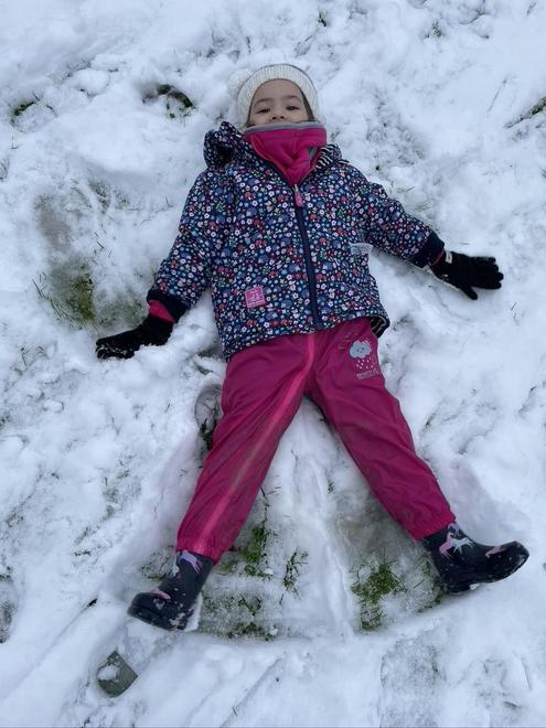 and snow angels.