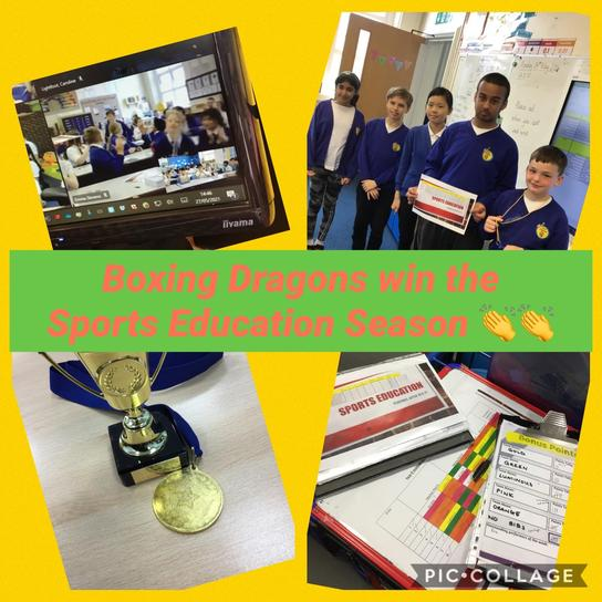 All of Year 6 deserve a big well done for completing the season!