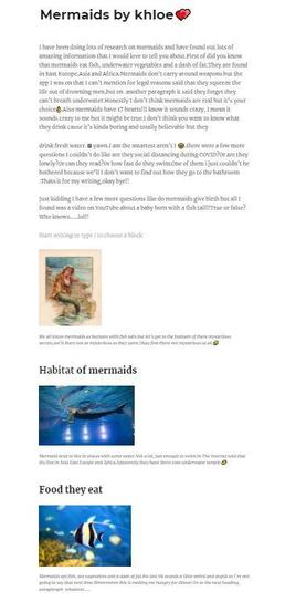 In Computing we researched Mythical Creatures and wrote our own blog pages