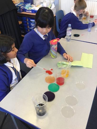 Our science work is practical, hands on and exciting.