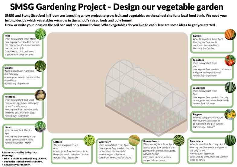 SMSG Gardening Challenge