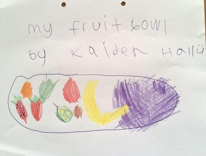 Lots of colourful fruit by Kaiden from Eucalyptus