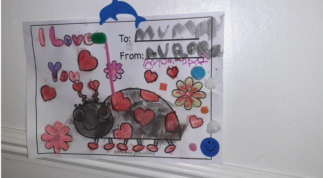 Aurora's Valentines creation