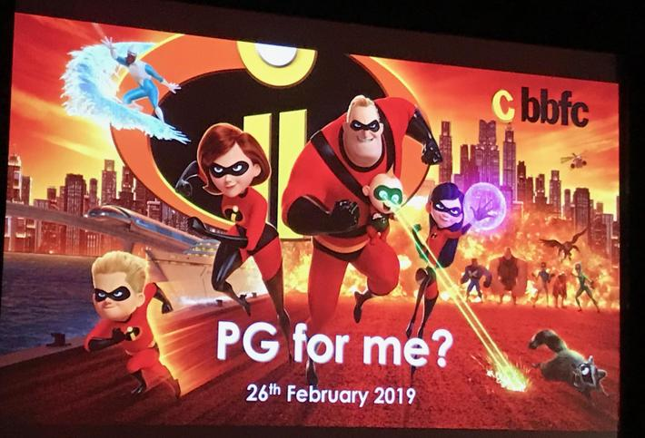 PG for me? (Film classification and E-Safety)