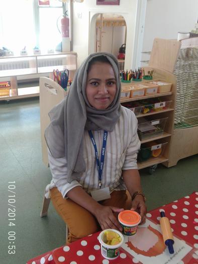 Mrs Ali - Nursery Nurse - Saplings