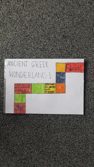Monique's Ancient Greek Boardgame