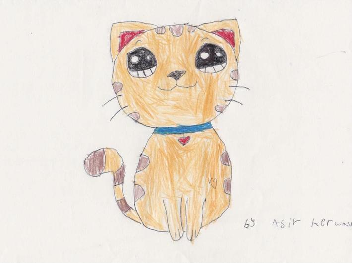 Beautiful neat cat by Asir from Sycamore