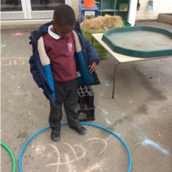 We're sounding out and blending words now!