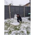 Sonny's snowman