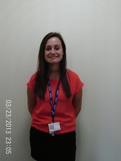 Miss Fitch - Year 1 Teacher