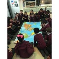 Learning about the Emirates travel.